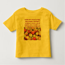 apples toddler shirt
