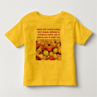 apples toddler shirt