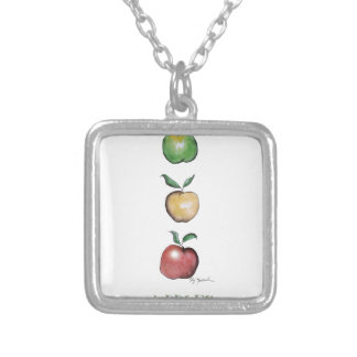 Apples, tony fernandes personalised necklace