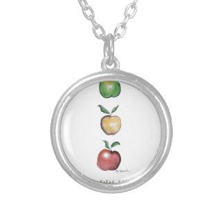 Apples, tony fernandes custom necklace