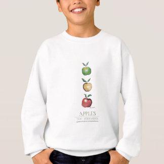 Apples, tony fernandes sweatshirt