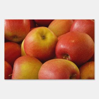 Apples Yard Sign
