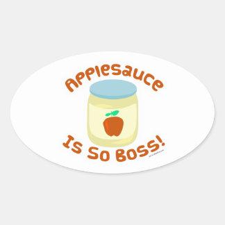 Applesauce is so Boss Sticker