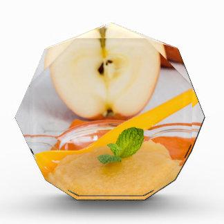 Applesauce with cinnamon and orange spoon award