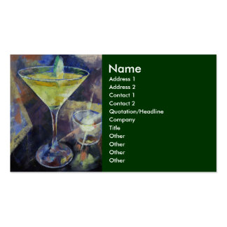 Appletini Business Card