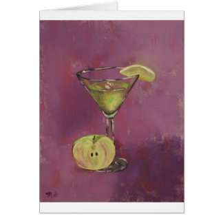 """Appletini"" Fine Art Products Card"