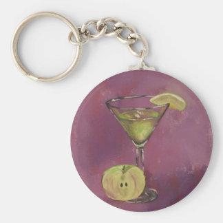 """Appletini"" Fine Art Products Keychain"