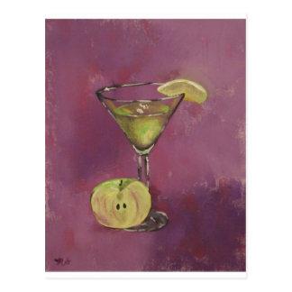 """Appletini"" Fine Art Products Postcard"