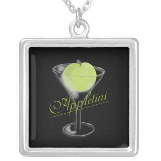 Appletini Green Apple Necklace