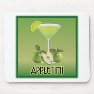 Appletini Green Mouse Pad