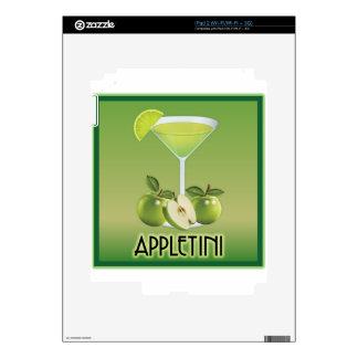 Appletini Green Skins For iPad 2
