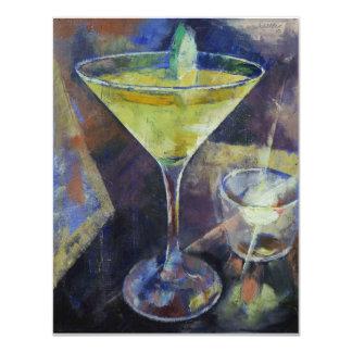 Appletini Martini Invitation