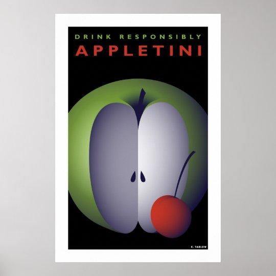 Appletini (poster grande) póster