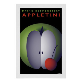 Appletini (Small Poster)