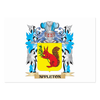 Appleton Coat Of Arms Business Cards