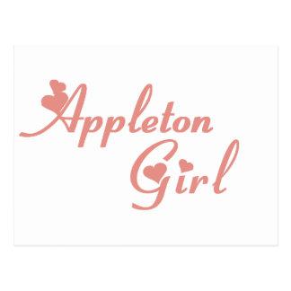 Appleton Girl tee shirts Postcard