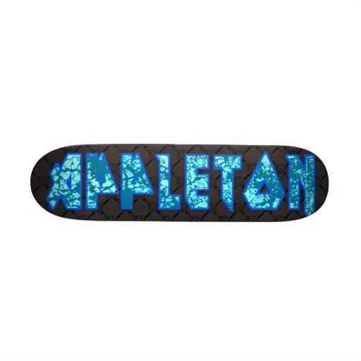 Appleton ice custom skate board