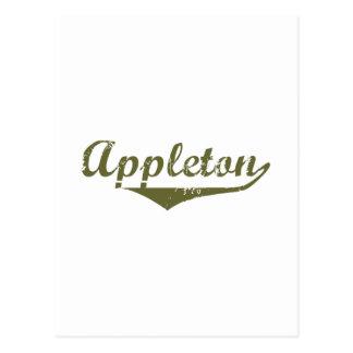 Appleton Revolution tee shirts Postcard