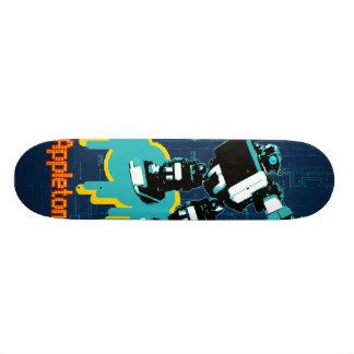 Appleton Robot Skateboard Deck