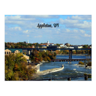 Appleton, Wisconsin landscape photograph Postcard