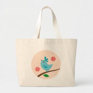 AppleTree Large Tote Bag