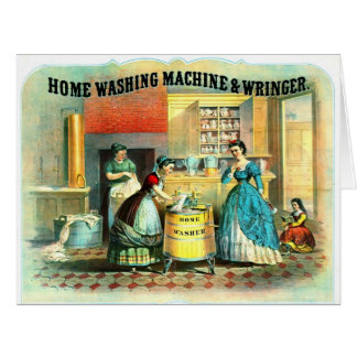 Appliance Ad 1869 Large Greeting Card