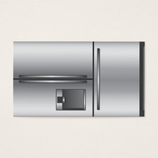 Appliance business card design