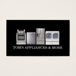 Appliances Sales Installation Repair Business Card