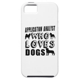 application analyst Who Loves Dogs iPhone SE/5/5s Case
