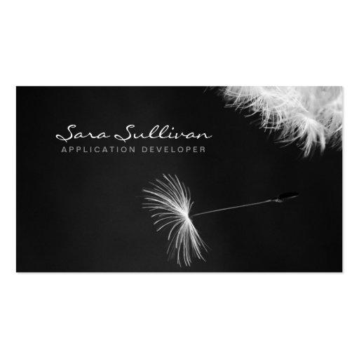 Application Developer Business Card Dandelion