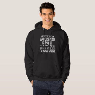 APPLICATION SUPPORT HOODIE