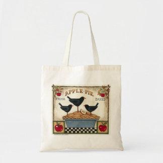 Applie Pie & Crows Budget Tote Bag