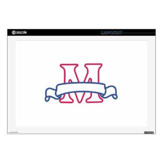 Applique Banner M Skins For Laptops