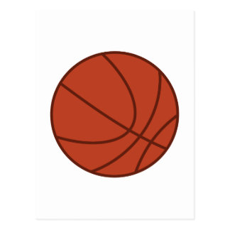 Applique Basketball Postcard
