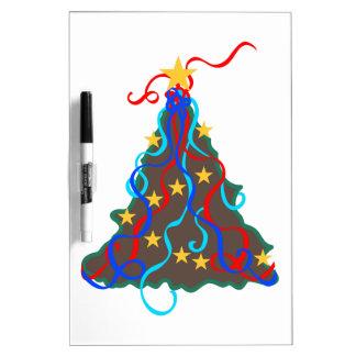 Applique del árbol de navidad pizarras