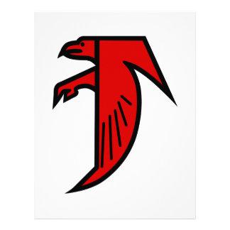 Applique Falcon Letterhead