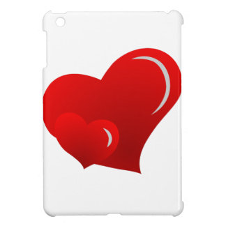 Applique Hearts iPad Mini Case
