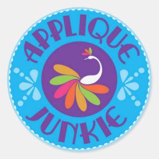Applique Junkie Sticker