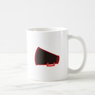 Applique Megaphone Coffee Mug