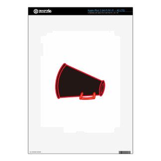 Applique Megaphone iPad 3 Decal