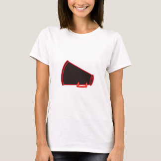 Applique Megaphone T-Shirt