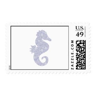 Applique Style Seahorse Postage