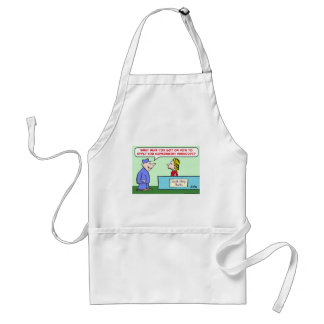 apply for government handouts adult apron