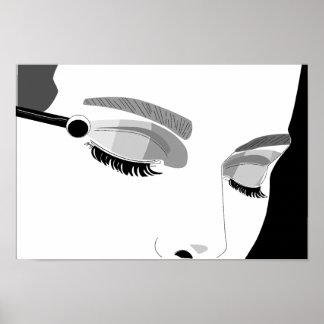 Applying Make Up Poster