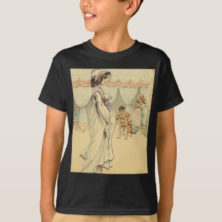 Appointment at the cafe de Tuileries 1898 T-Shirt