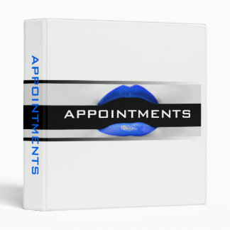Appointment Binder For Cosmetologists
