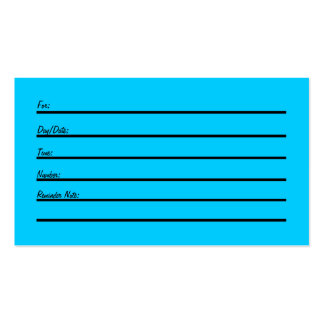 Appointment Card Business Card Templates