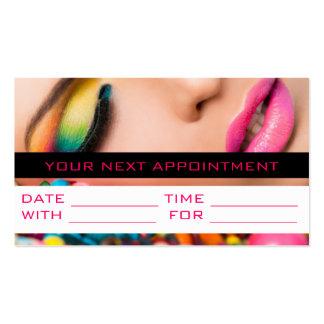 Appointment Card MakeUp Artist Cosmetology Salon Business Card Template