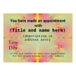 Appointment Cards Business Card