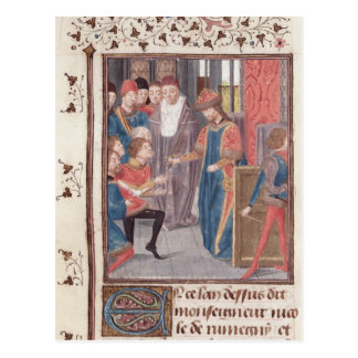 Appointment of Two Knights Postcard